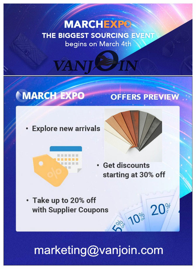 ALIBABA MARCH EXPO  (March 4-31)