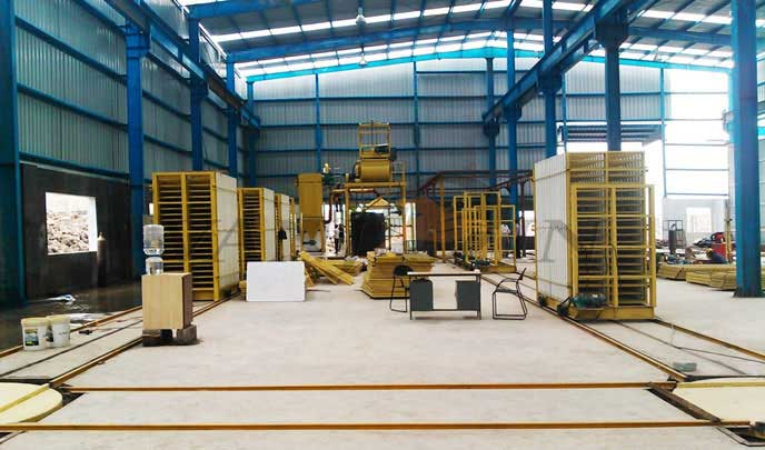 Wall Panel Production Line